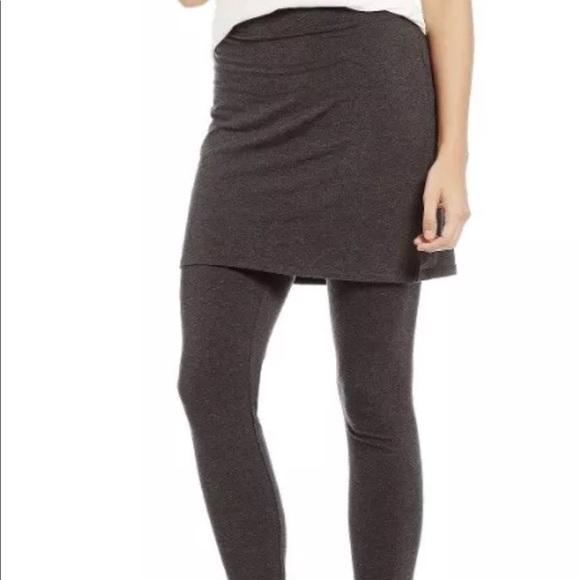 d9e4d63a60b41 Eileen Fisher Pants - Eileen Fisher skirted leggings size small